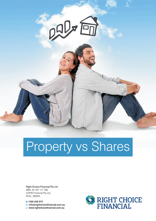 Property vs Shares for Right Choice Financial