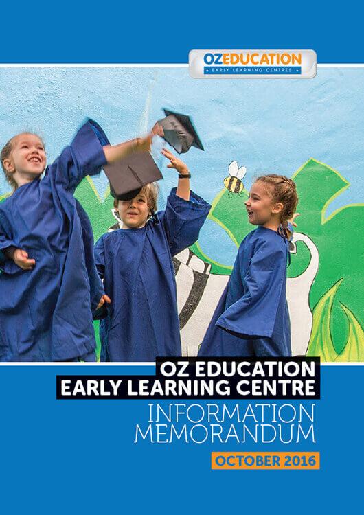 Information Memorandum Oz Education